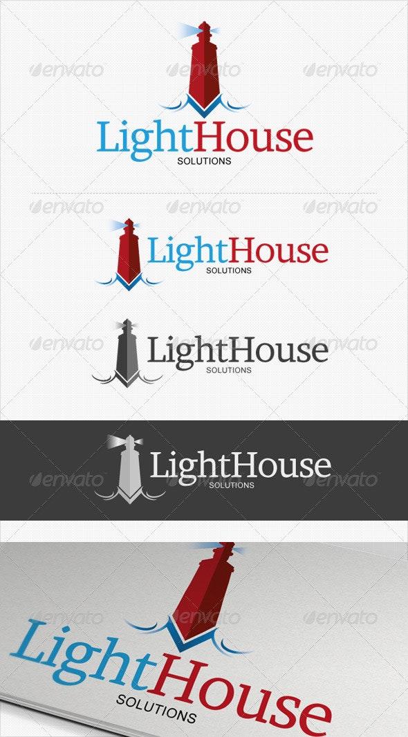 LightHouse Business Solutions logo - Symbols Logo Templates