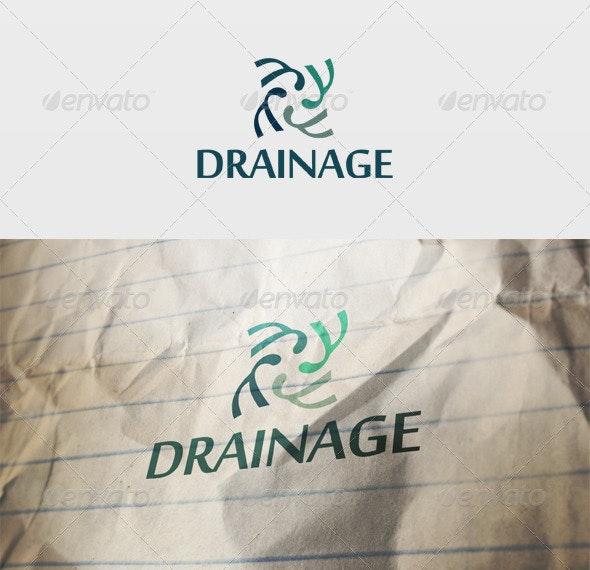 Drainage Logo - Vector Abstract