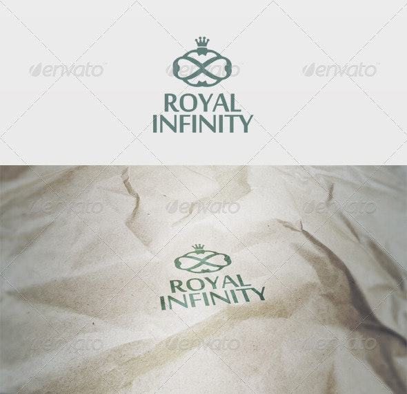 Royal Infinity Logo - Vector Abstract