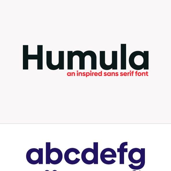 Humula Sans Serif Font