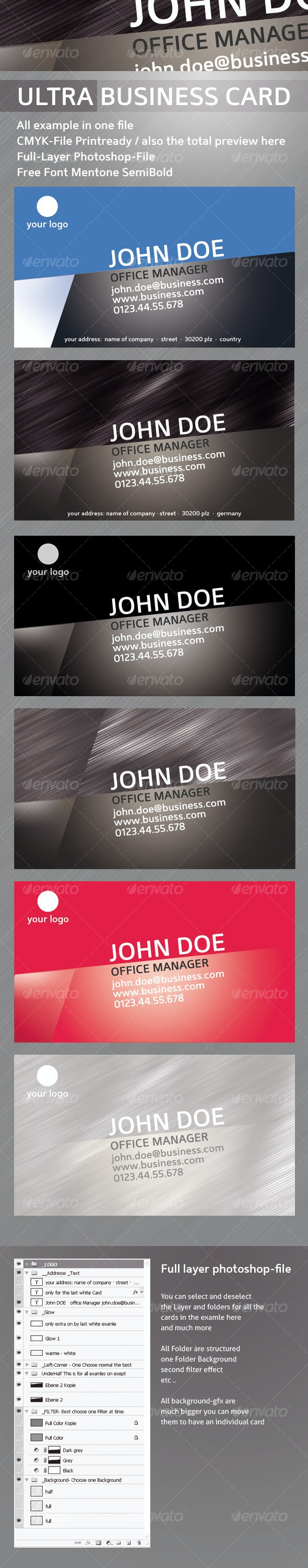 Business Card Ultra - Corporate Business Cards