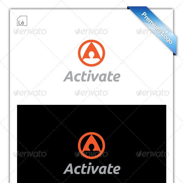 Letter A - Activate Logo - Sports Marketing Logo