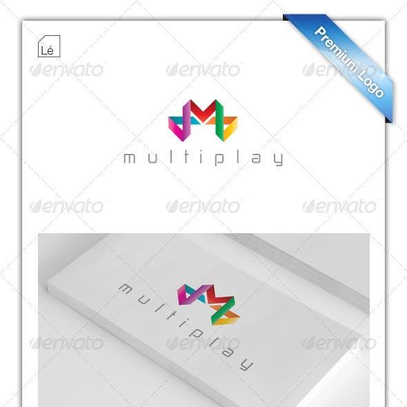 Letter M Logo - Multiplay Logo - Gamer Logo