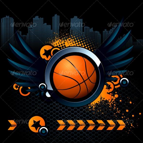 Basketball Modern Image - Sports/Activity Conceptual