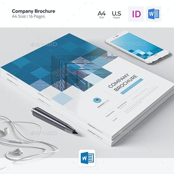Corporate Brochure, Word Template