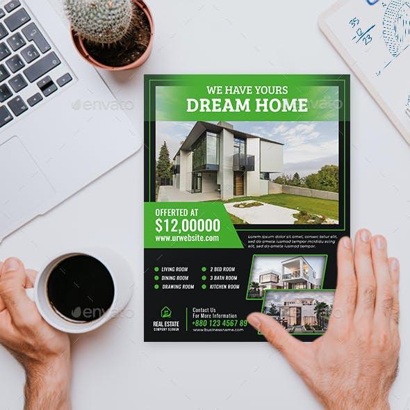 Real Estate Flyer V68