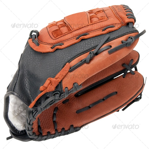 Baseball Glove - Activities & Leisure Isolated Objects