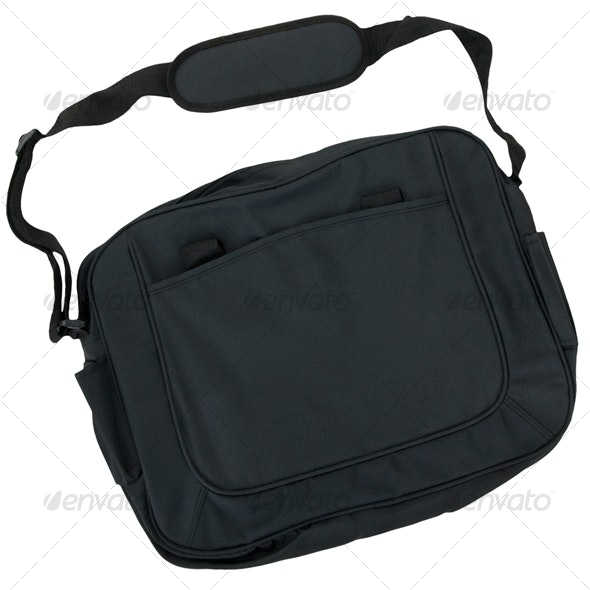 Computer Bag - Home & Office Isolated Objects