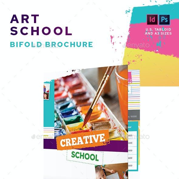 Art School Bifold Brochure