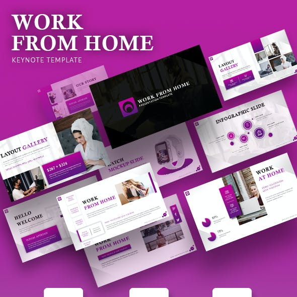 Work From Home Keynote Template