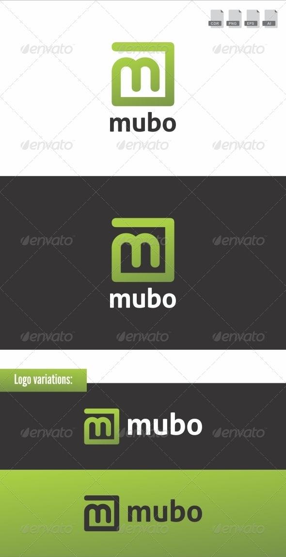 Mubo - Web 2.0 Logo - Letters Logo Templates