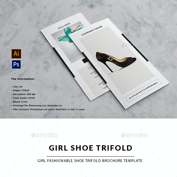 Fashion Product Trifold Brochure