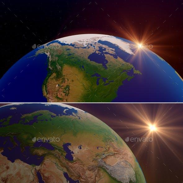 Earth Backgrounds V1