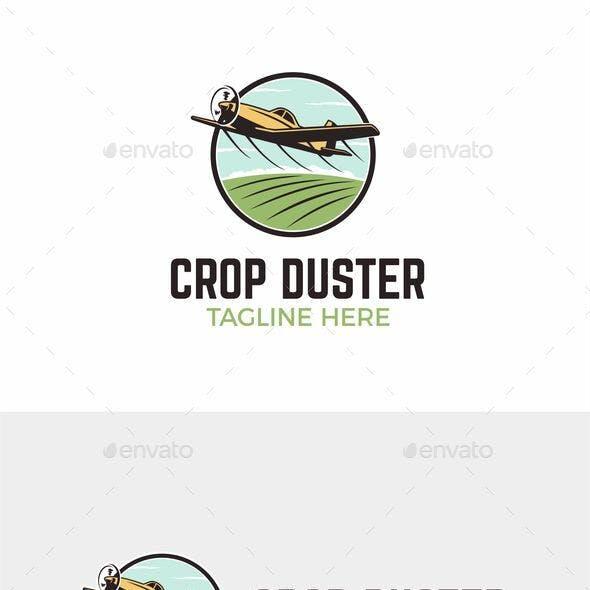 Logo Design for Agricultural Farming Aerial Spray - Crop Duster