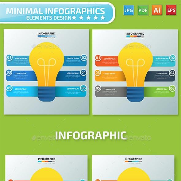 Light Bulb Infographics