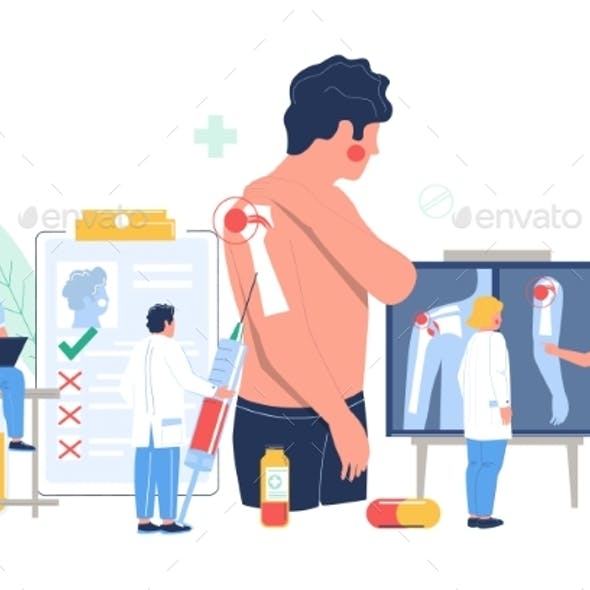 Shoulder Arthritis, Osteoarthritis Patient