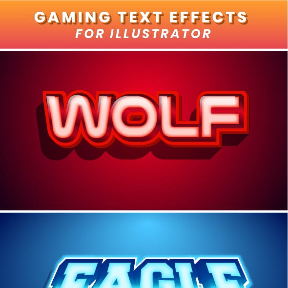 Esport Gaming Text Effect