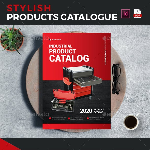 Industrial Products Catalog Template