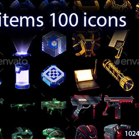 Sci Fi Craft Icons