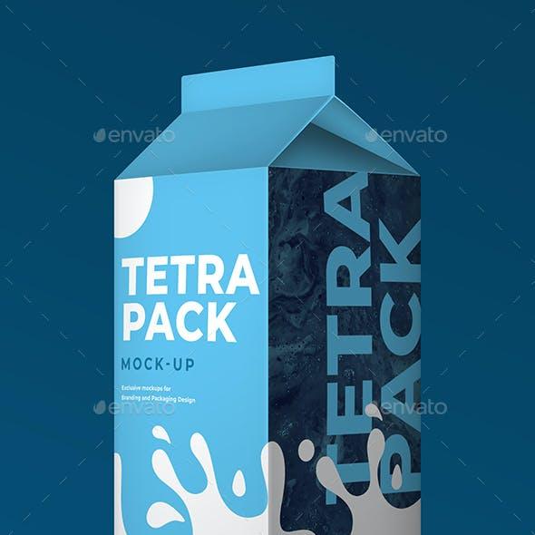 Tetra Pack Mockup