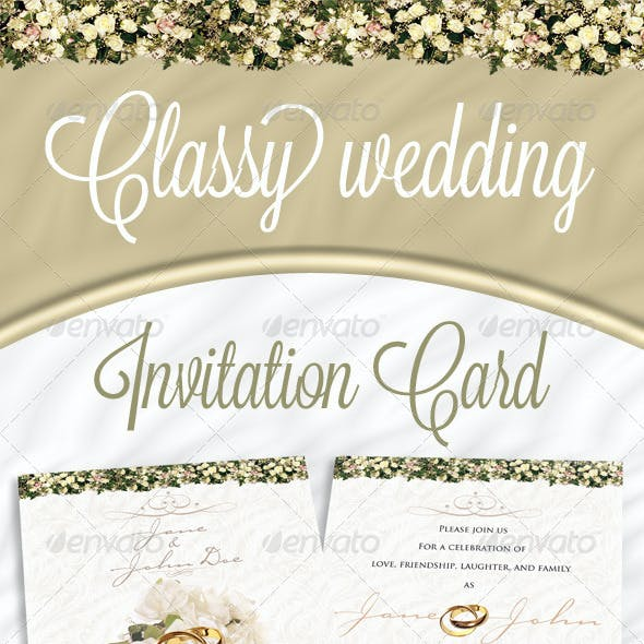 Invitation Cards Graphics Designs Templates From Graphicriver