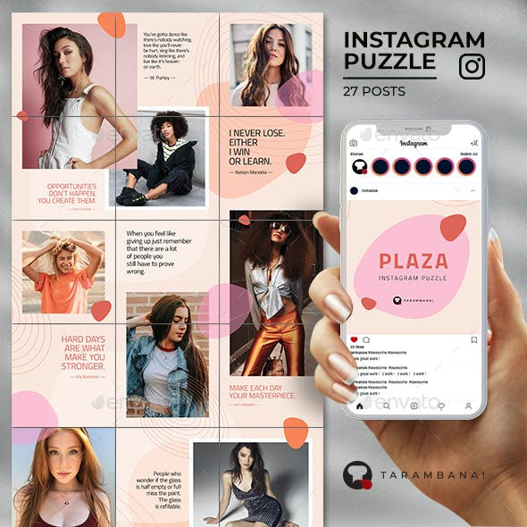 Plaza - Instagram Puzzle Feed