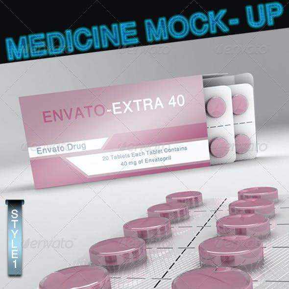 Medicine Mock-Up