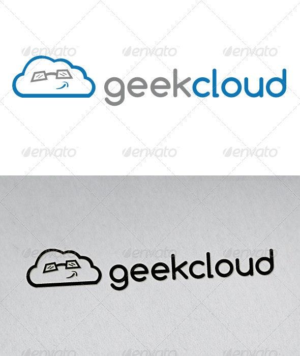 Geek Cloud Logo - Vector Abstract