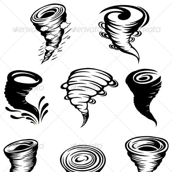 Tornado design elements