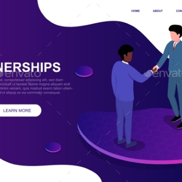 Partnership and Agreement Concept