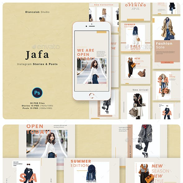 Jafa Fashion Instagram