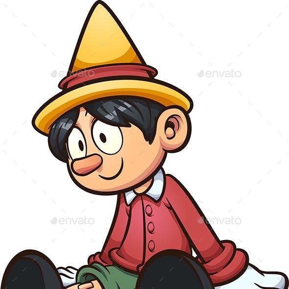 Lifeless Pinocchio