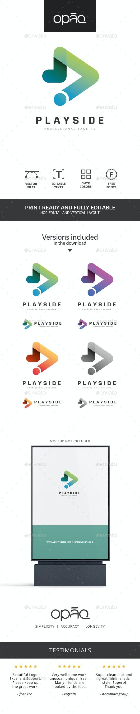 Play Symbol Technology Logo - Symbols Logo Templates