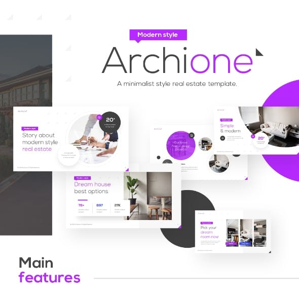 Archione Real Estate Powerpoint Presentation Template