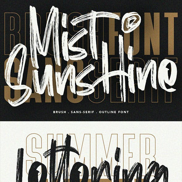 Mist Sunshine Font