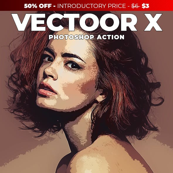 Vectoor X Photoshop Action