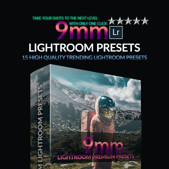 9mm Lightroom Presets