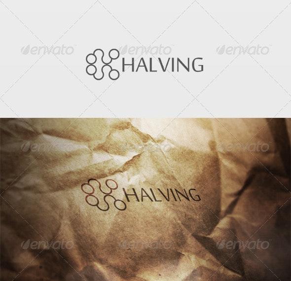 Halving Logo - Letters Logo Templates
