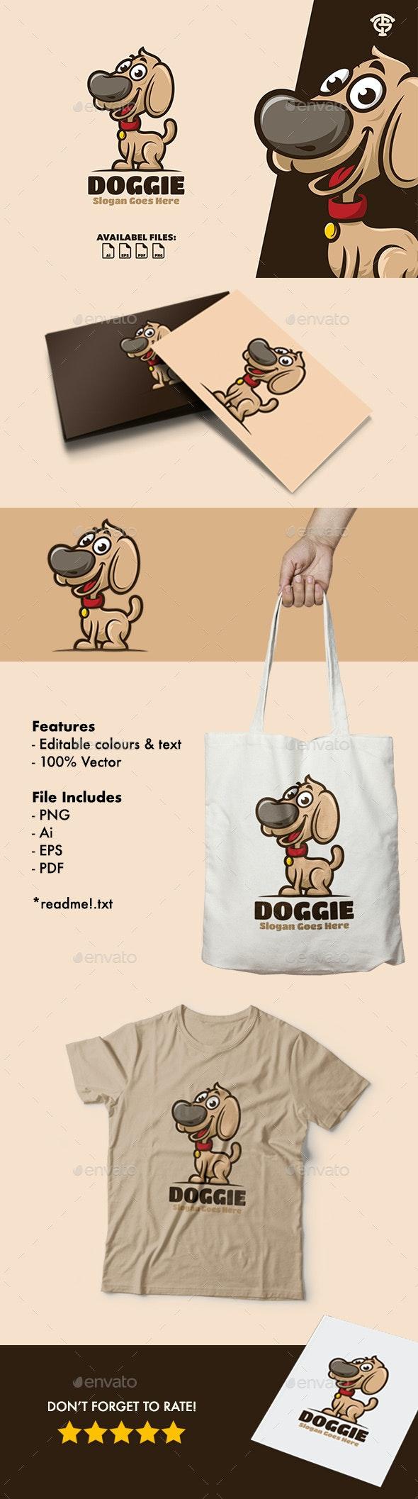 Doggie - Logo Mascot - Animals Logo Templates
