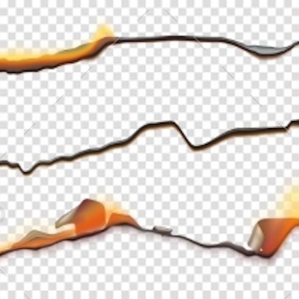 Burn Paper Borders