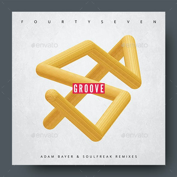Groove – Music Album Cover Artwork Template