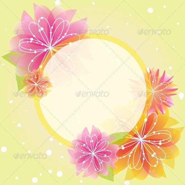 Flower Greeting Card - Flowers & Plants Nature