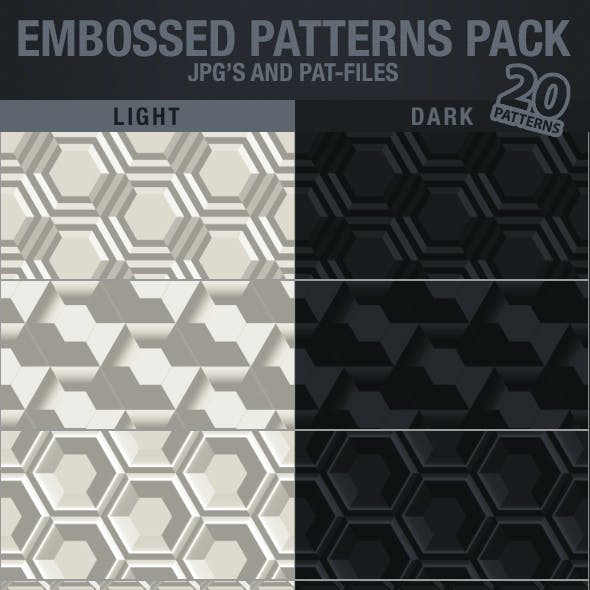 EMBOSSED PATTERNS PACK