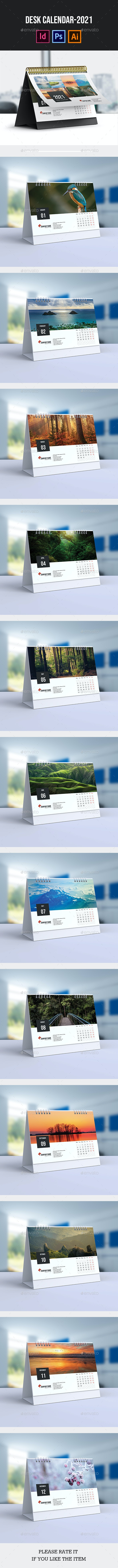 Desk Calendar for 2021 | Updated - Calendars Stationery