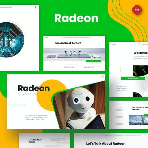 Radeon - Technology Powerpoint