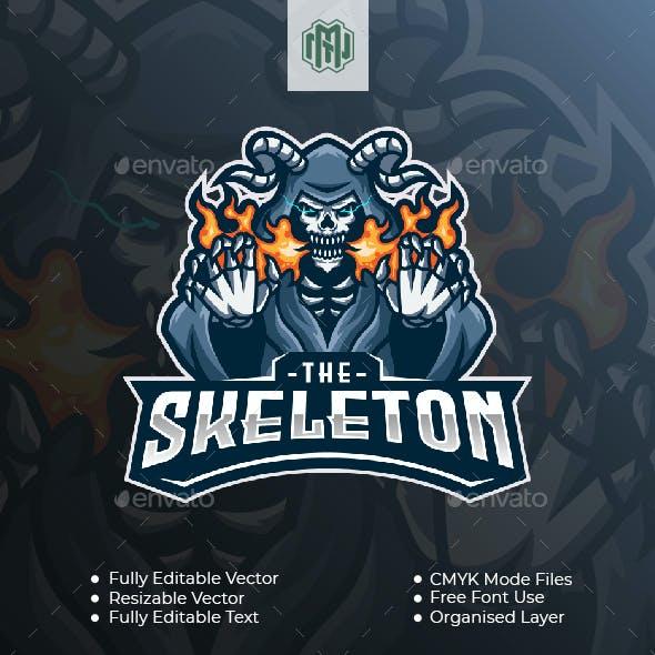 The Skeleton Esport Logo