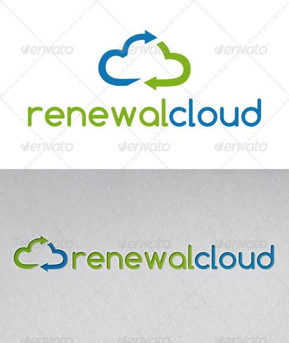 Renewable Cloud Logo - Nature Logo Templates