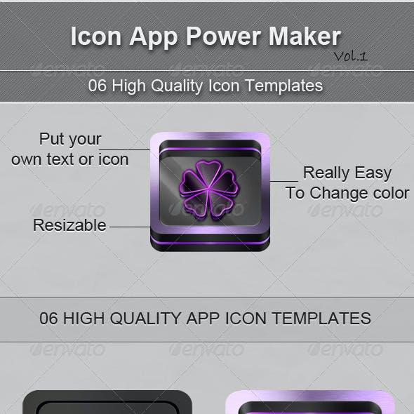 Icon App Power Maker Vol.1