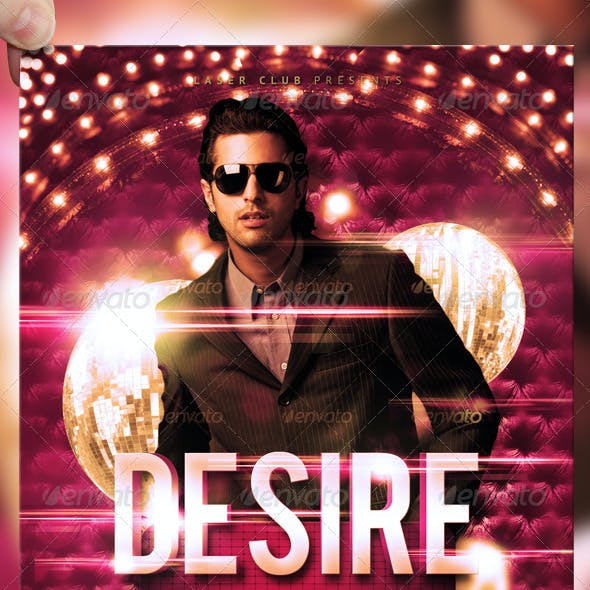 Desire Party Flyer Template