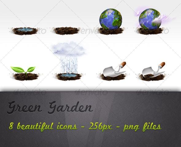 Green Garden - Miscellaneous Icons